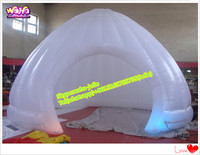 White inflatable igloo tent for outdoor promotional event A034