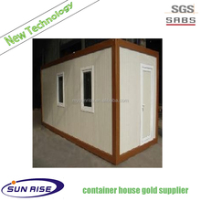Prefab flatpack office living room prefabricated mobile home furniture