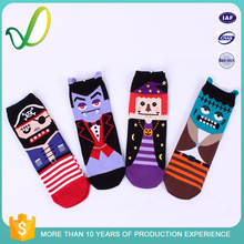 Fashion Young Rde Cartton Cotton Teen Girl Socks Hot Child Tube Sock
