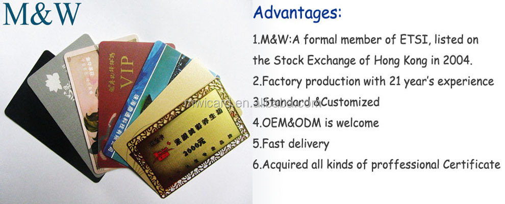 RFID TK4100/T5577 IC/ID Key Card/hotel door card