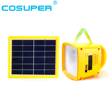 chinese outdoor led rechargable camping solar lantern with radio mp3