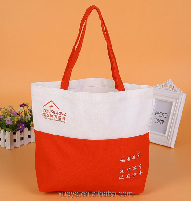 2018 fashion design <strong>tote</strong> handle canvas shopping bags