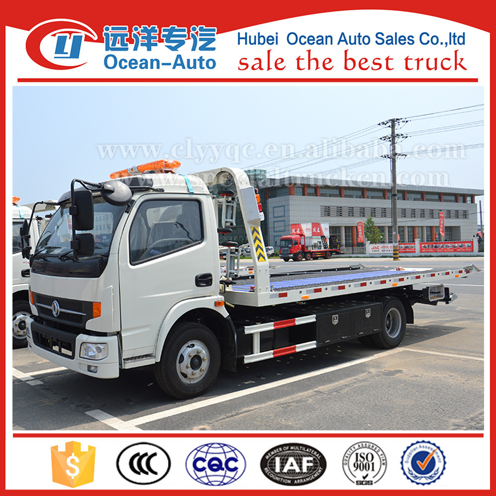 Dongfeng new rhd 4ton flatbed tow truck for sale buy flatbed tow