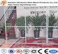 american style chain link temporary fencing