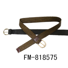 FM brand customized logo mens leather belts wholesale high quality PU leather belt