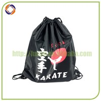 China supplier good quality promotional plain drawstring bag