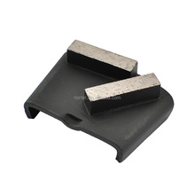Bar Segment Easychange Diamond Grinding Shoe for Soft, Medium, Hard Concrete for HTC Diamond Tooling