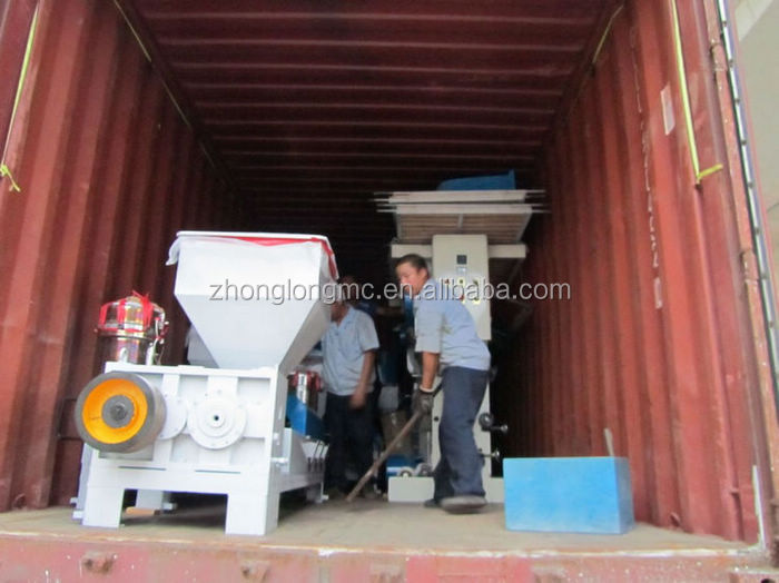 Double layers co-extrusion PE film blowing machine