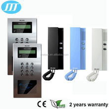 Digital Audio Outdoor station.non-visual indoor monitor,handfree audio intercom door phone for apartment