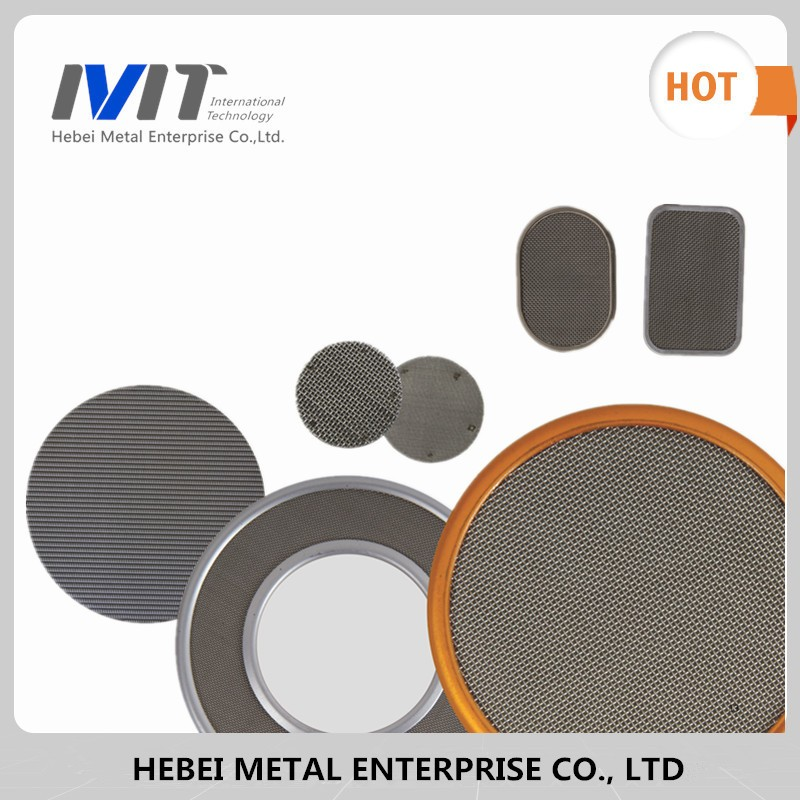 Hight Density Stainless Steel Perforated Sheets Filter Mesh/Metal Mesh Tubes/ Perforated Cylinder Filter hot sell