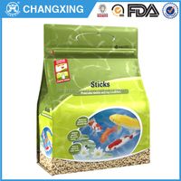 Customize 1kg-40kgs pet food bag with reclosable zipper, pet food packaging bag