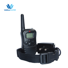 Best Selling Amazon Rechargeable 100 Levels Beep Stimulation Vibration Remote Dog Shock Training Collar 998DB