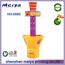 China shenzhen custom rotating peg hook counter display