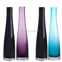 Manufacturer Exquisite handmade colored glass vase