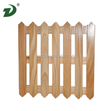 2014 Eco-friendly pine expandable wooden fence for sale
