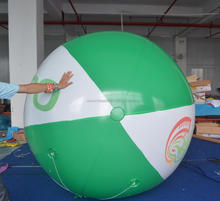 Promotion lovely Inflatable logo flying balloon for sale
