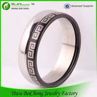 Pop Lords prayer ring jewelry wholesale stainless steel Scripture Ring J5-0043