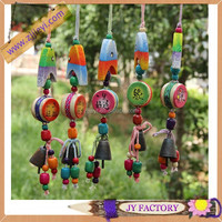Creative client gifts home accessories heart-shaped craft supplies wind chime