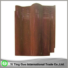 dark brown monier villa roof tile with low price