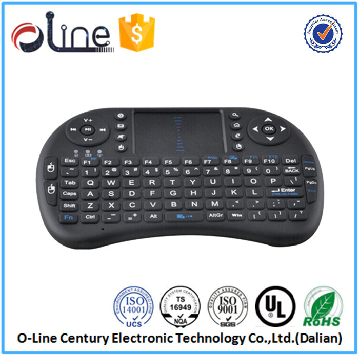 High quality Mini QWERTY keyboard i8 wireless keyboard for android tv box rii i8 wireless keyboard with integrated mouse