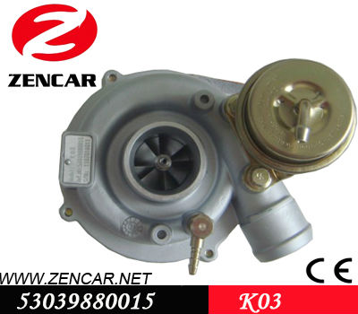 K03 turbo charger 53039880015 for Audi A3 1.9 TDI (8L)