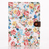 Ultra Slim Flower Fabric Stand Flip Hard PC+Cloth Cover Case for iPad air 2 tablet
