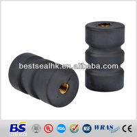 Custom mold rubber bonded part