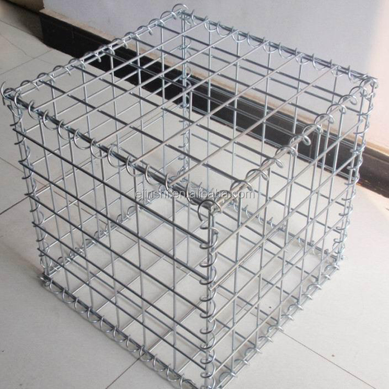CE Mark 1 x 1 x1m gabion/Stone cages/Gabion boxs wire cage rock wall