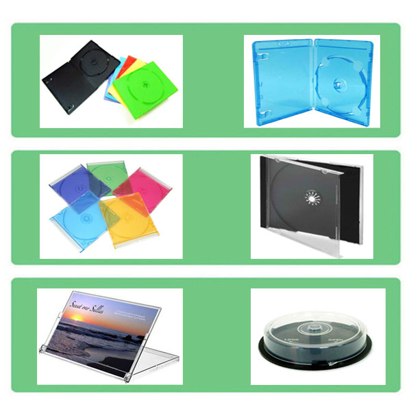 Hot sale eco-friendly cd dvd case calendar case in any colors