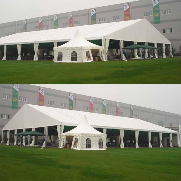 30x50 aluminum frame tent for exhibition and trade shows