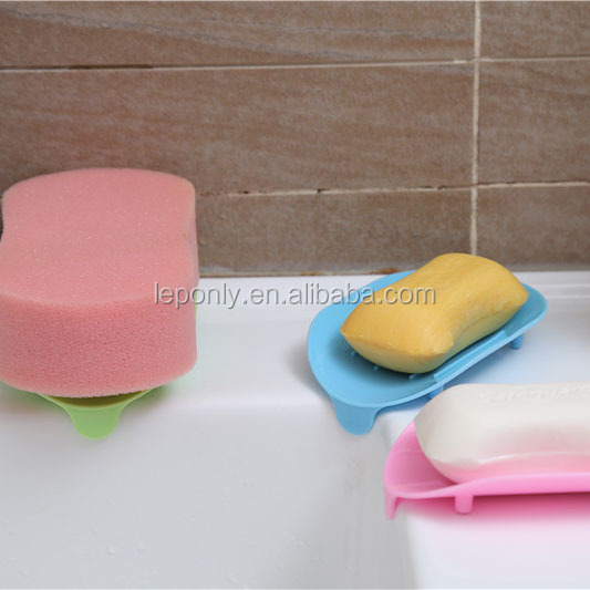 Eco-friendly plastic soap holders for showers,stain soap holder