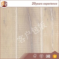 China colorful arc non slip laminated flooring with wax