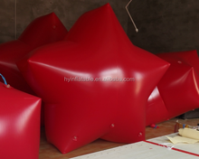 Beautiful inflatable star inflatable red star inflatable decration star for selling