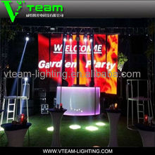 3 years warranty China high quality full color p10 led display for indoor stage bars advertising use