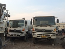 Original Japan Mixer Truck Used Hino 500 Concrete Mixer Truck For Sale