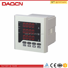 Power factor meter stop digital electric meter