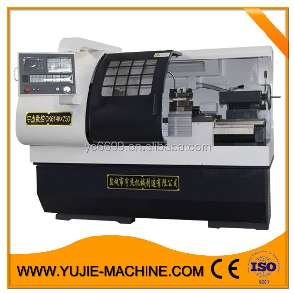 Mechanical automatic numbering cnc lathe metal machine CK6140B