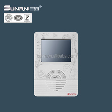 Push buttons 4.3 inch monitor video door phone for buildings and villas