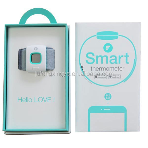 Ifever 02 Baby Bluetooth Smart Thermometer Bracelet 24 hours Medical Fever Measuring and monitor