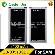3100mah battery rechargeable for samsung EB-BJ510CBC J5 j5109 j5108
