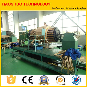 Good quality big capacity automatic transformer copper wire coil winding machine for sale