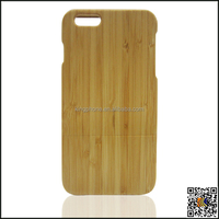 Natural bamboo cover for iphone 6 plus,bamboo case for iphone 6