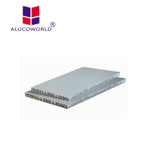 Alucoworld plastic honeycomb pallet led sandwich panel