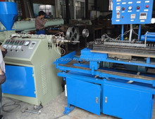Water drain corrugation pipe hose production line making machine