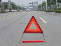Road Safety Sign Led Warning Light triangle Tow Car
