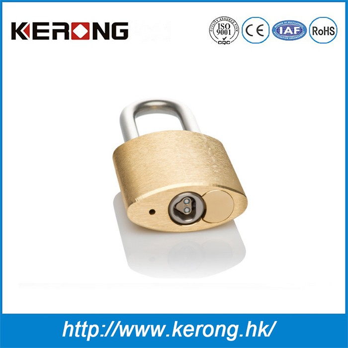 Electric filing cabinet iron padlock lock