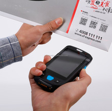 Barcode scanner with bluetooth print SIM card nfc rfid for car parking industry/car washing/car identification