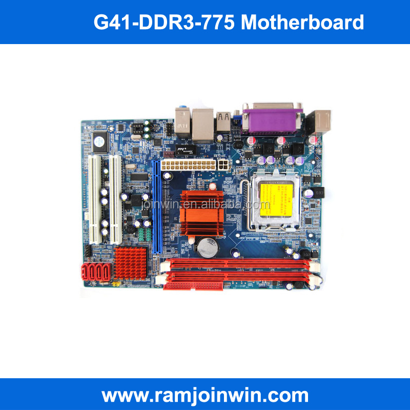 Dual core G41 ICH6 chipset LGA775 771 socket am2 ddr3 motherboards