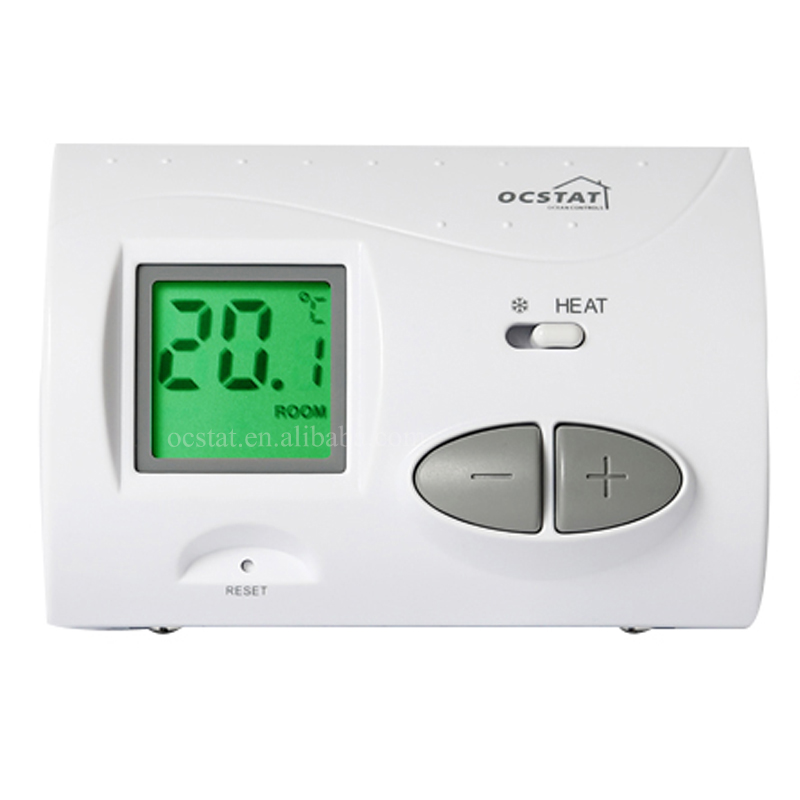 Best Heating Controls LCD Digital Gas Temperature Control Wall Thermostat