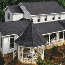 Fish Scale Asphalt Roof Shingles